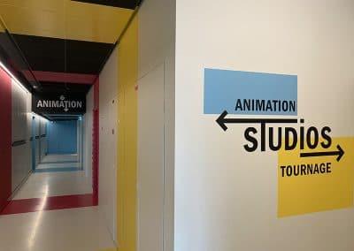 Studios tournage pédagogiques